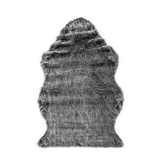 Giz Home Alaska Post Halı 60x90 cm - Siyah Kırçıllı