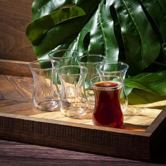 Termisil Asya 6'lı Çay Bardağı