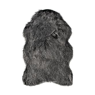 Giz Home Alaska Post Halı 100x150 cm - Siyah Kırçıllı