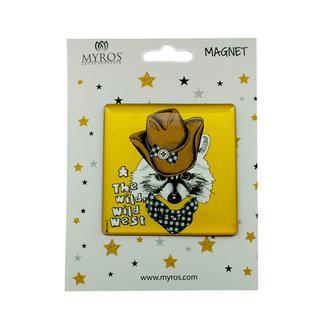 Myros 305 Hayvan Figürlü Kare Magnet