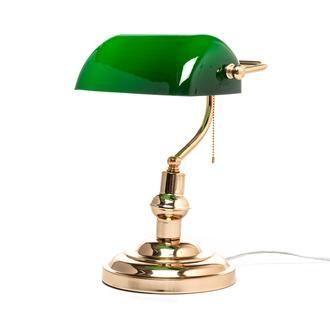 Nisa Luce Banker Masa Lambası - Altın
