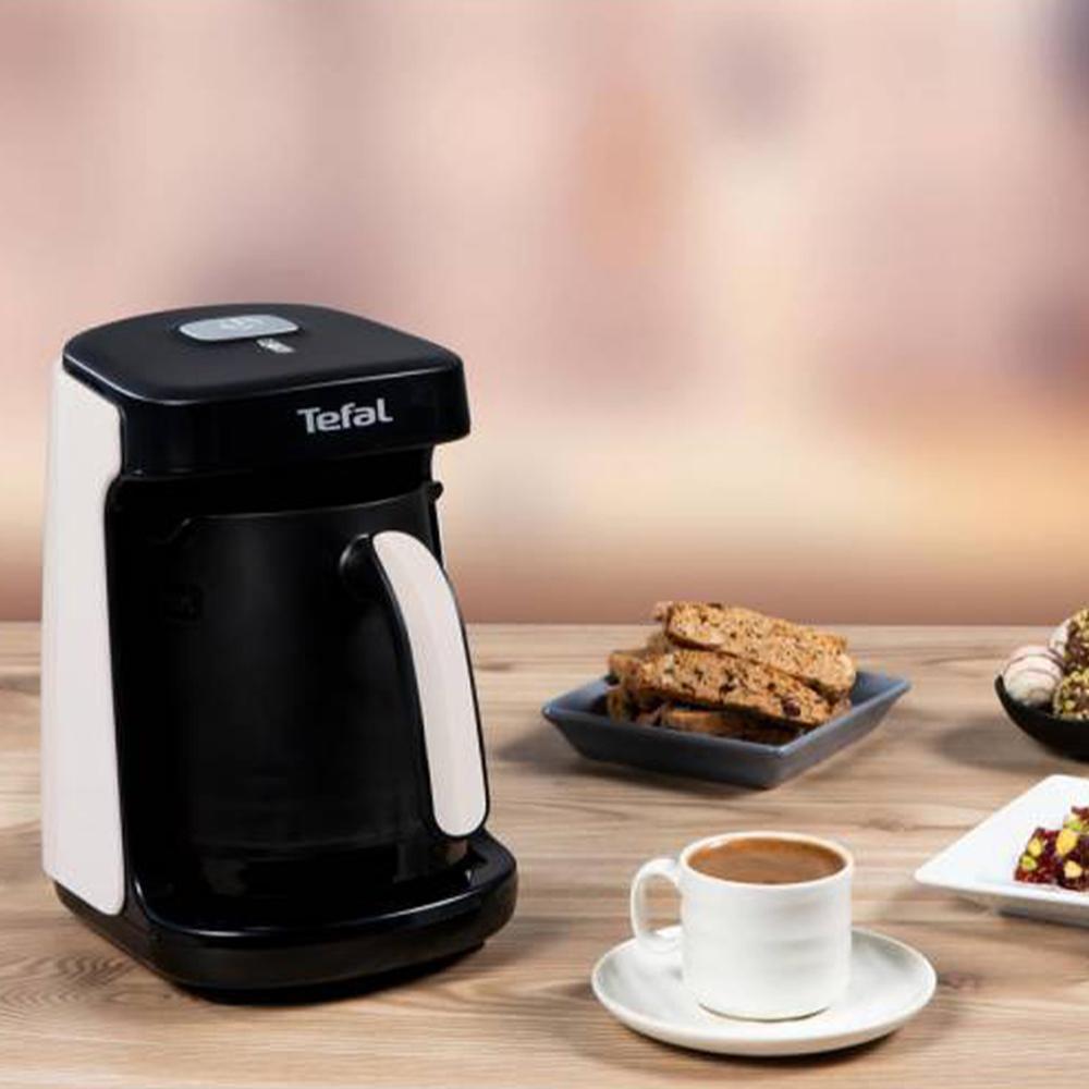 Tefal Köpüklüm Compact Türk Kahve Makinesi - Beyaz