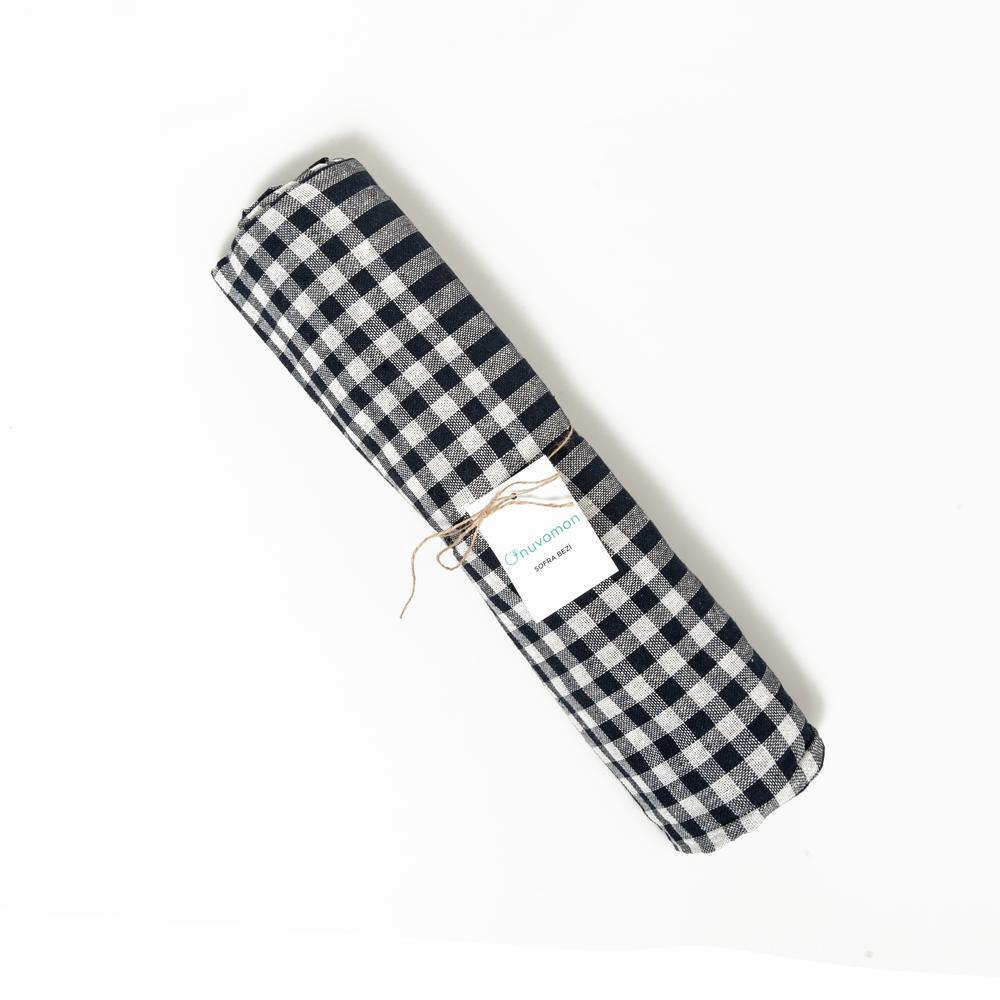 Nuvomon Sofra Bezi Siyah - 170x170 cm