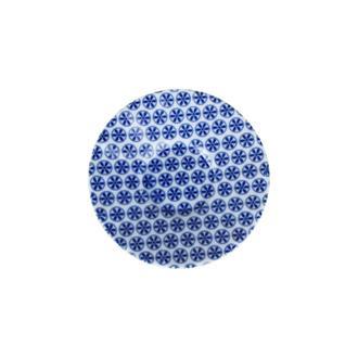 Porland Blue Desen 4 Ergonomik Çay Tabağı - Mavi / 11 cm