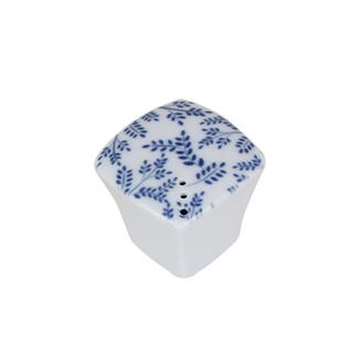 Porland Blue Desen 6 Porselen Tuzluk Biberlik - Mavi /4,7 cm