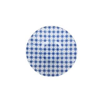 Porland Blue Desen 3 Ergonomik Çay Tabağı - Mavi / 11 cm