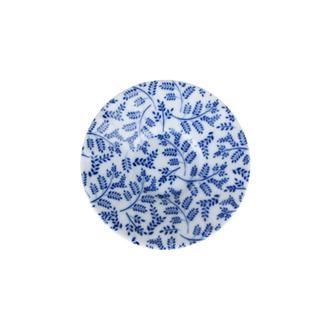 Porland Blue Desen 6 Ergonomik Çay Tabağı - Mavi / 11 cm