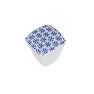 Porland Blue Porselen Tuzluk Biberlik - Mavi/4.7 cm