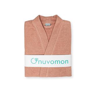 Nuvomon Plain Kadın Kimono Bornoz S/M - Pudra