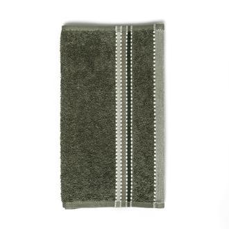 Nuvomon Stripe El Havlusu 30x50 cm- Haki
