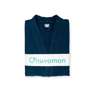 Nuvomon Plain Erkek Kimono Bornoz L/XL - Petrol Mavisi