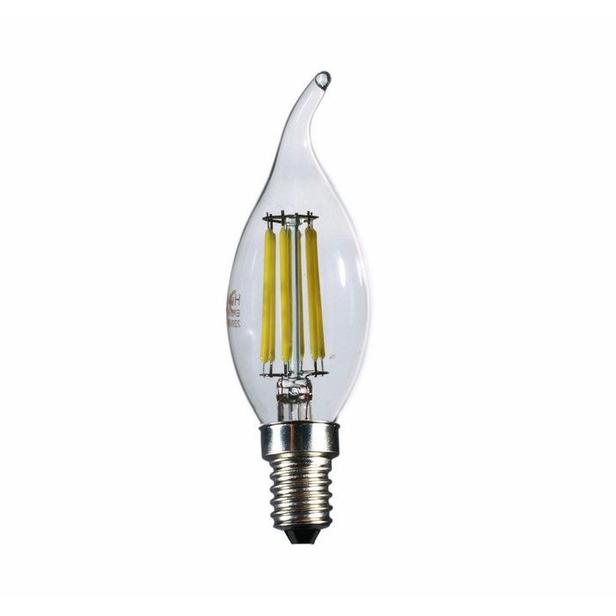 Heka Kıvrık Uç 6W E14 660Lm 6500K Beyaz Işık Ampul