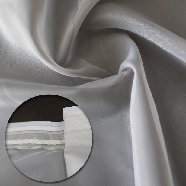Garden Tül Perde - Gri - 250x270 cm