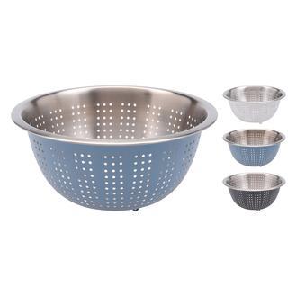 Excellent Houseware Çelik Süzgeç - Mavi / 24 cm