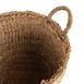 Mien Kulplu Küçük Hasır Sepet - 30x29 cm