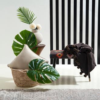Giz Home Carmel Koltuk Şalı (Kahve) - 130x170 cm