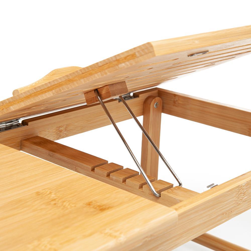 Bambum Katlanır Çalışma ve Laptop Masası