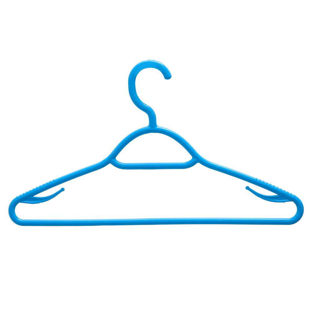 Gondol Plastik 29406 6'lı Neo Renkli Elbise Askısı - Asorti