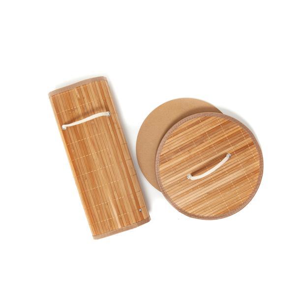 Deco&Style Bambu Çamaşır Sepeti - 48 Litre