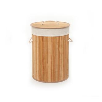 Deco Style Bambu Çamaşır Sepeti - 48 Litre