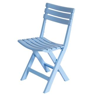Saban Katlanır İç ve Dış Mekan Çok Amaçlı Sandalye - Açık Mavi
