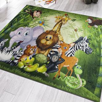 Koza Halı Jungle Suni Deri Taban Çocuk Halısı - 120x180 cm