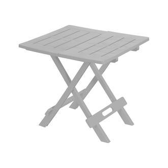 Saban Katlanır Bahçe/Balkon ve Piknik Masası - Beyaz