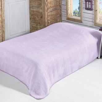 Sesli Lady Cotton Tek Kişilik Battaniye (Lila) - 150x220 cm