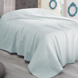 Sesli Lady Cotton Tek Kişilik Battaniye (Mint) - 150x220 cm