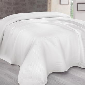 Sesli Lady Cotton Çift Kişilik Battaniye (Beyaz) - 200x220 cm