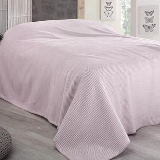 Sesli Lady Cotton Çift Kişilik Battaniye (Pembe) - 200x220 cm