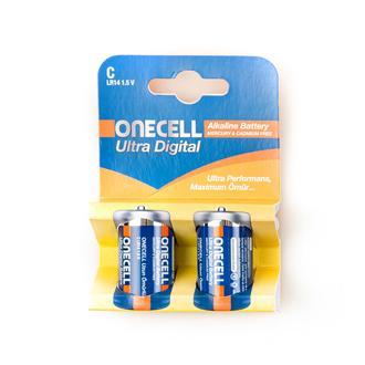 OnecellUltra Dijital Alkalin C Boy 2'li Pil