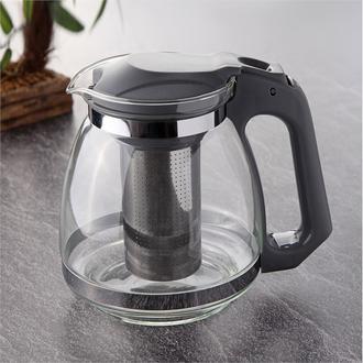 Tohana Bitki Çayı Demliği - Gri/1500 ml.