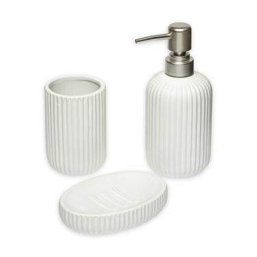 Kosova Bny-614 3 Parça Banyo Seti - Beyaz