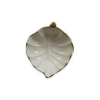 Cosiness Yaldızlı Yaprak Çerezlik - 10 cm