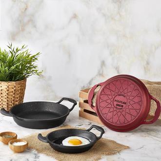 Polo Chef Iron Döküm Yumurta Sahanı - 18 cm
