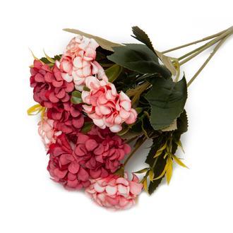 Q-Art Buket Yapay Çiçek - Kırmızı