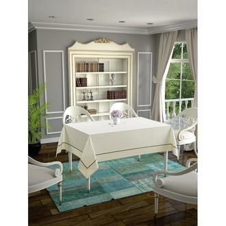 Daisy Ara Biyeli  Masa Örtüsü - 140x180 cm - Krem