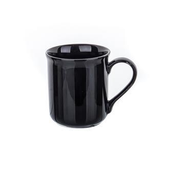 Tulu Porselen Antik Kupa - Siyah / 230 Ml