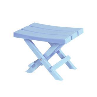 Saban Katlanır Bahçe/Balkon ve Piknik Taburesi - Açık Mavi