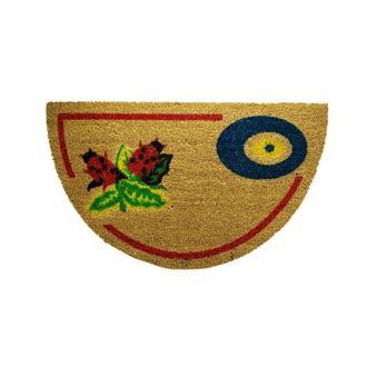 Giz Home Yarımay Nazar Uğur Böceği Koko Kapı Paspası - 40X70