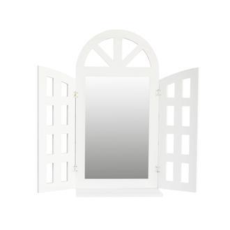 Decorev Ahşap Raflı Pencere Ayna