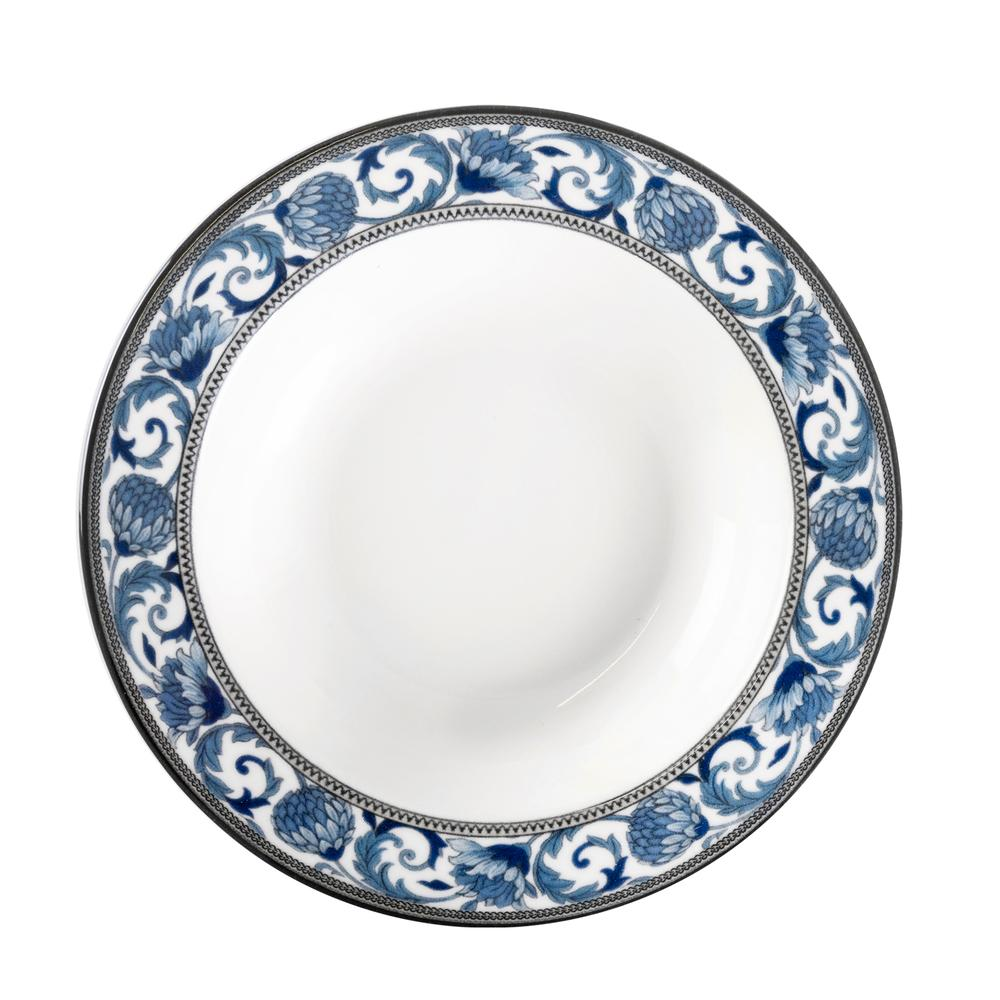 Valery Bleu Blanc Tavuskuşu 24 Parça Yemek Takımı