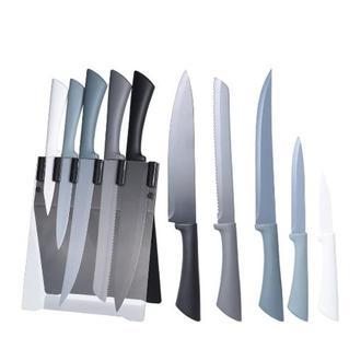 Excellent Houseware 6 Parça Bloklu Bıçak Seti