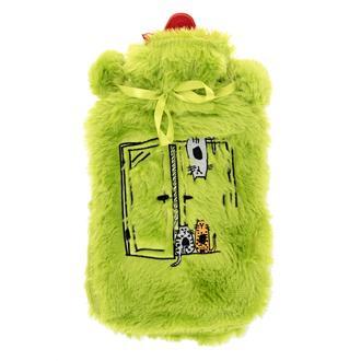 Biggdesign Cats Camdaki Kediler Sıcak Su Torbası-Yeşil