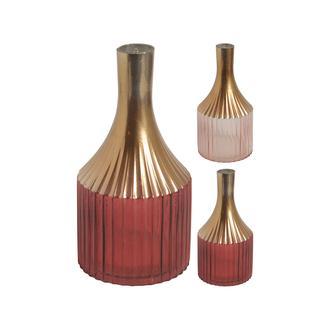 Q-Art Gold Detaylı Vazo
