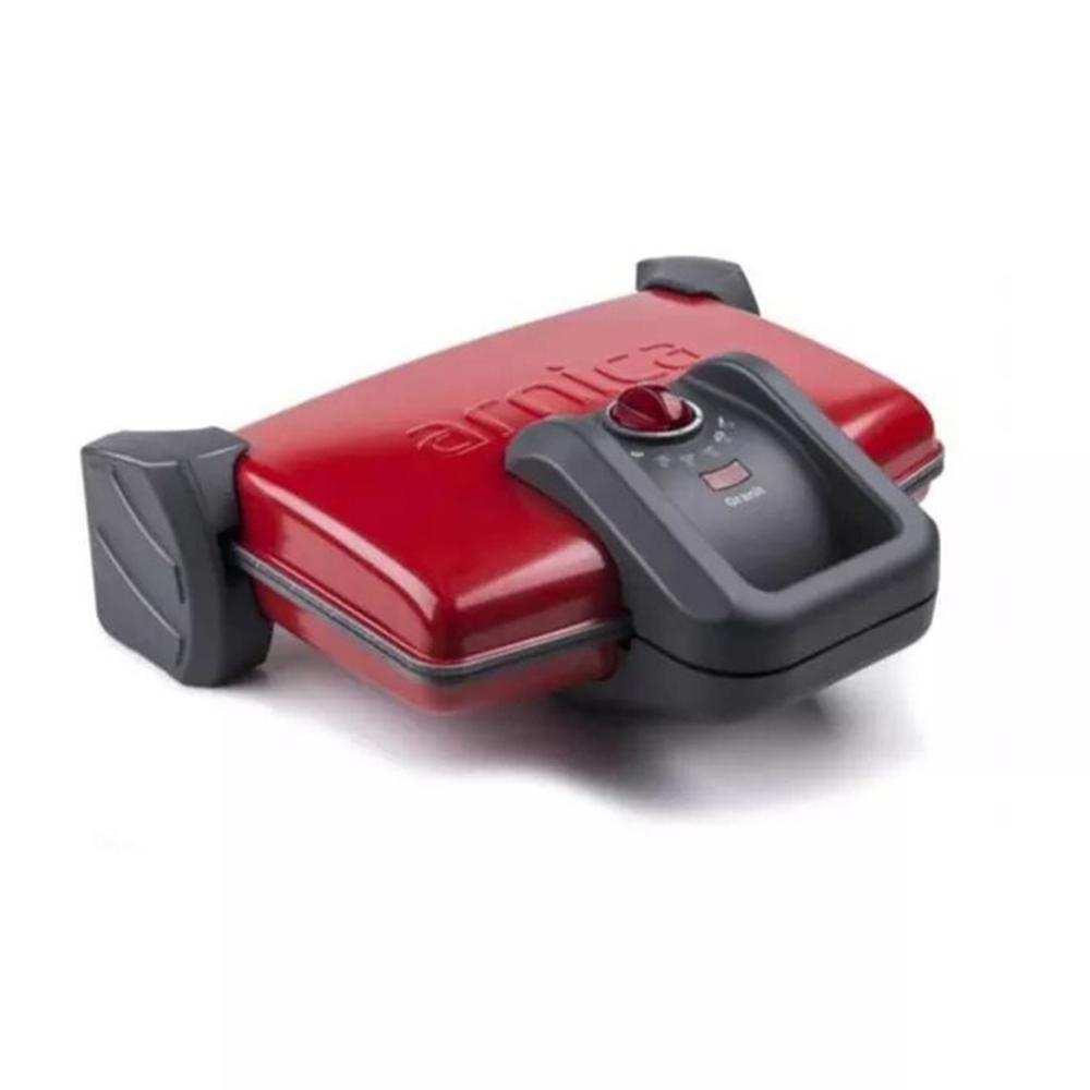 Arnica GH26120 Ayvalık Granit Tost Makinesi-Kırmızı
