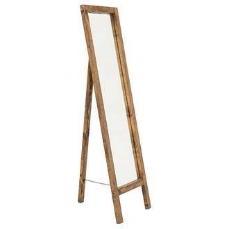 Utyawood Ayaklı Ahşap Ayna 145 cm x 41 cm