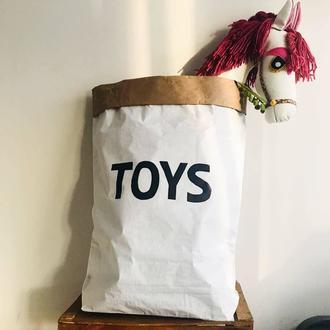 BugyBagy Toys Paperbag Kraft Torbası  70x50X15cm