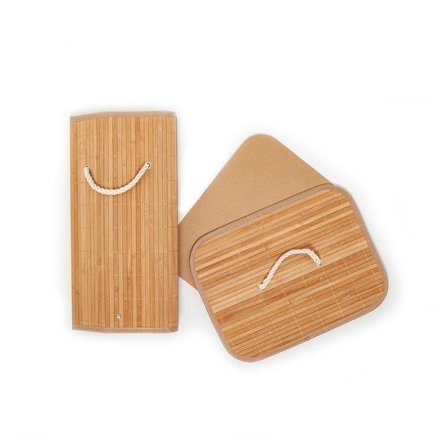 Deco&Style Bambu Çamaşır Sepeti - 60 Litre
